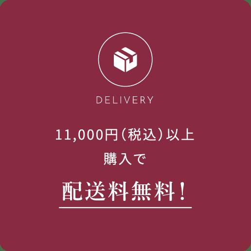 5,000円(+税)以上購入で配送料無料!